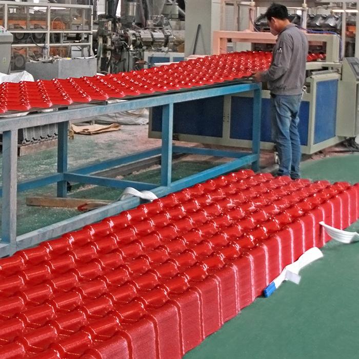 plastic roof tile heat resistance ASA pvc roofing sheet